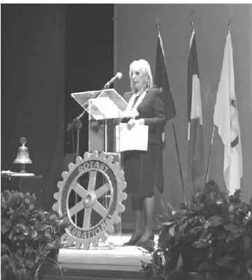 La Presidente Maristella Mura apre i festeggiamenti per i 70 anni del Club.