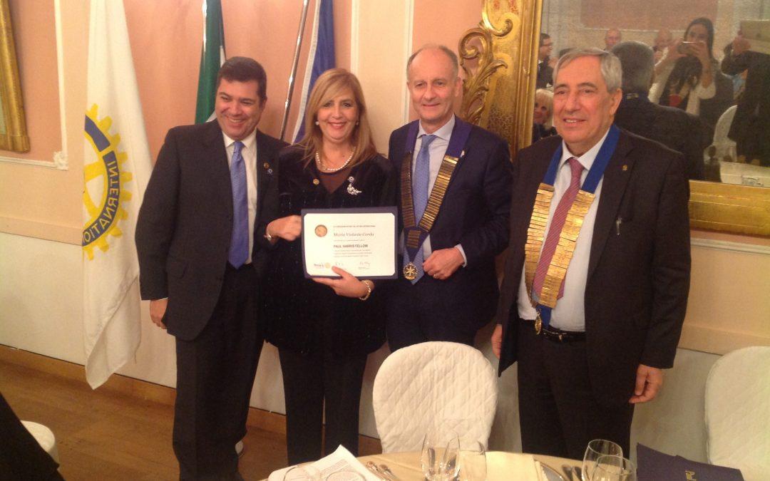 Saluto del Presidente del Rotary Club Sassari Attilio Mastino.